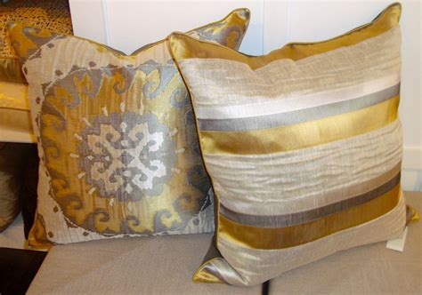 Decor: Pretty Gold Throw Pillows For Home Accessories