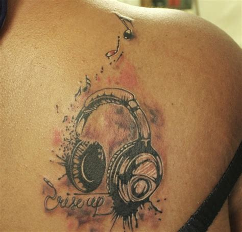 headphone tattoo designs 40 3d designs ideas design trends premium psd