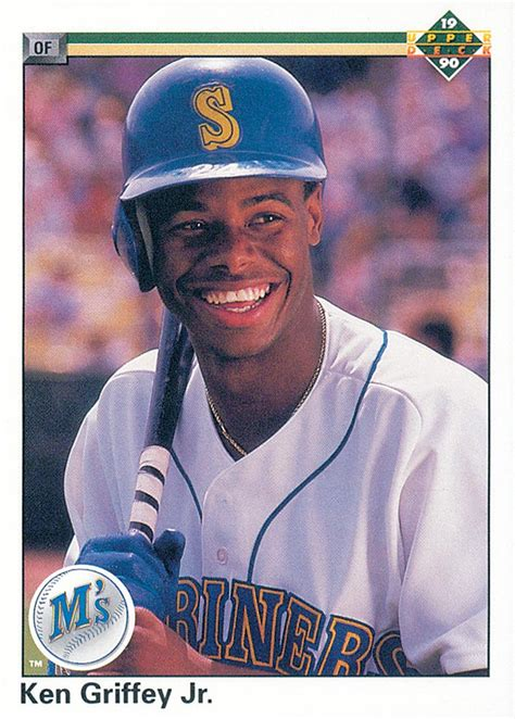Deck Ken Griffey Jr by 1990 Deck 156 Ken Griffey Jr Uer Simultaniously