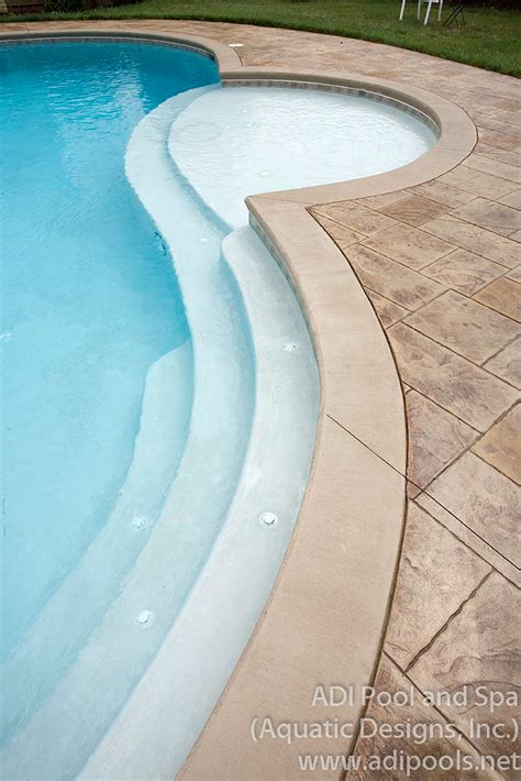 swimming pool bench residential adi pool spa residential and commercial pools