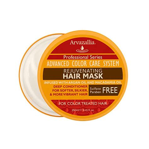 best shoo and conditioner for color treated hair arvazallia rejuvenating hair mask and conditioner for