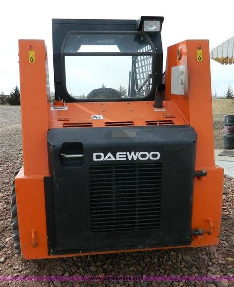 1999 daewoo 1760xl skid steer item g7612 sold