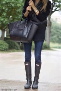 Check Vs Plaid style watch the hunter boots trend fab fashion fix