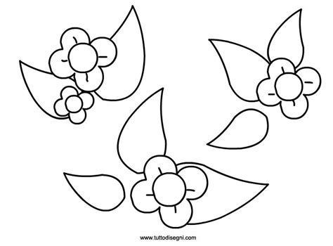 fiori primavera da colorare primavera fiori stilizzati da colorare tuttodisegni