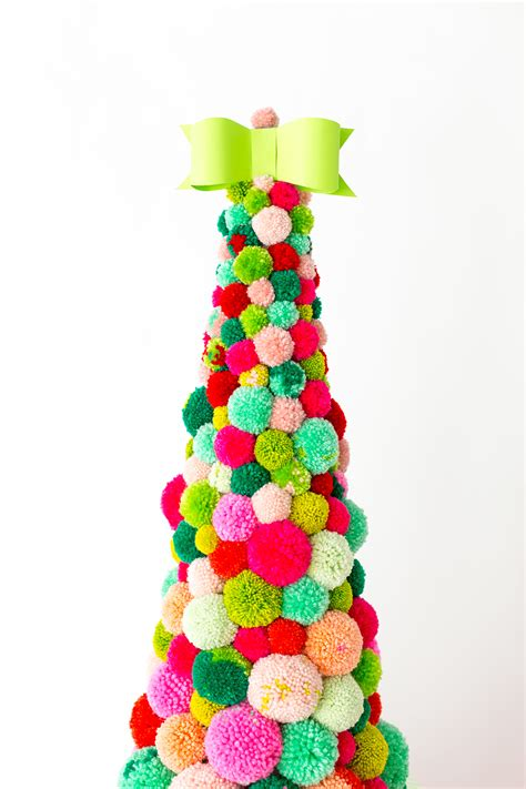187 diy pom pom christmas tree