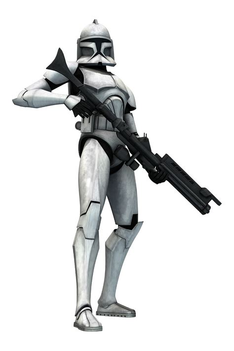 clone trooper wall display armor character renders and gameplay shots from star wars clone