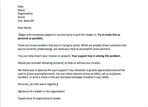 how to write a sponsorship letter sle sponsorship request letter top form templates