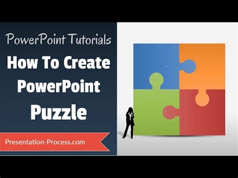 how to build a powerpoint template how to create puzzle in powerpoint diagram series