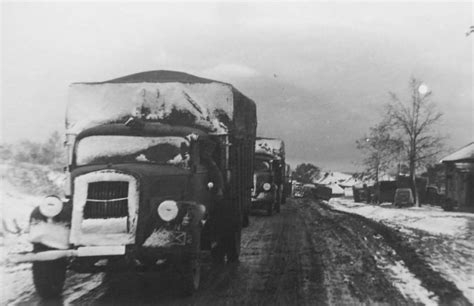 opel winter opel blitz 3to winter in russia war photos