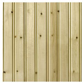 Pine Wainscoting Lowes Shop Empire Company 3 5625 In X 2 67 Ft Edge And Center