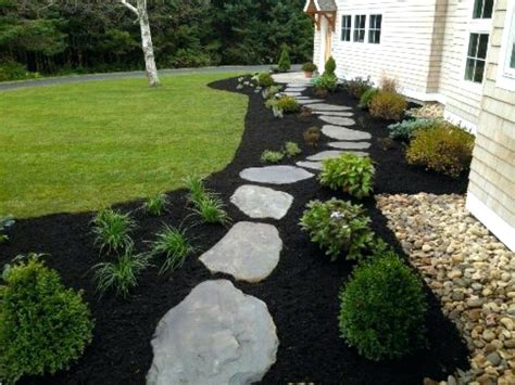landscape mulch ideas image of best mulch for flower beds black mulch landscape design