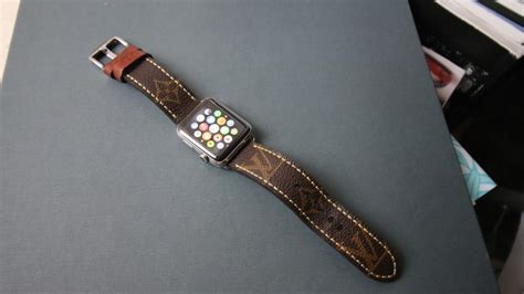 Louis Vuitton Apple Watch Band   Big Brand Boys