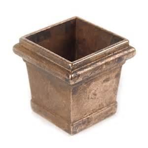 square furniture brass furniture leg caps