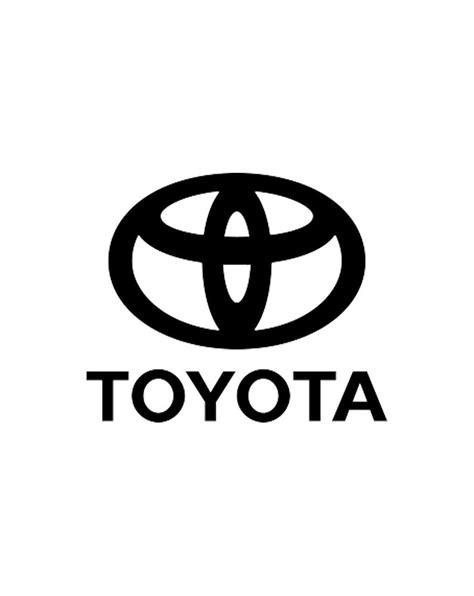 toyota logo toyota logo bw