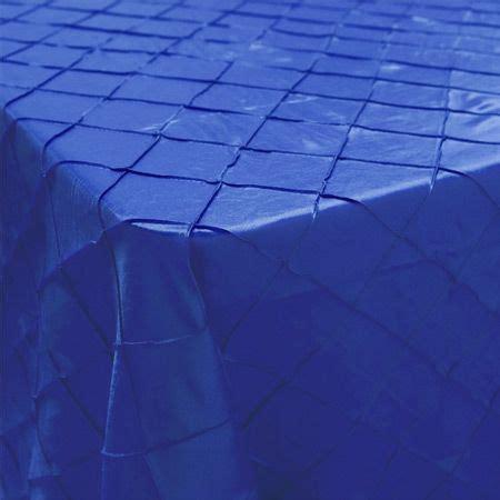 light blue pintuck tablecloth 90 x 156 rectangle pintuck royal blue tablecloth royal