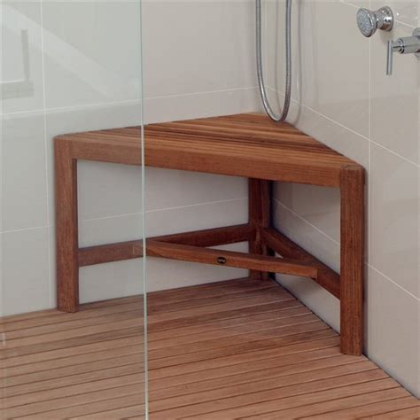 Corner Shower Bench by 25 Best Ideas About Shower Benches On Large