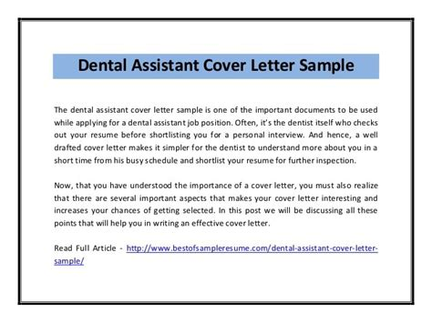 Dental Assistant Cover Letter No Experience by Cover Letter Dental Assistant No Experience Docoments Ojazlink