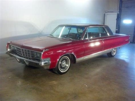 65 Chrysler New Yorker by Purchase Used 65 Chrysler New Yorker 2door 54 In