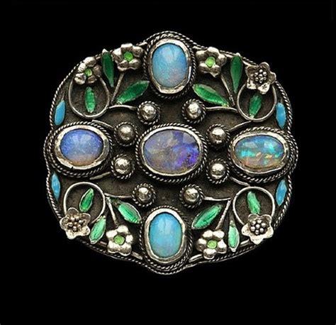arts and crafts jewelry arthur and georgie gaskin jewellery kaleidoscope effect