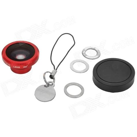 Promo Lesung Magnetic Fish Eye Lens 180 Degree Lx M001 Blue Paling Lar universal magnet mount 180 degrees fish eye lens w cap free shipping dealextreme
