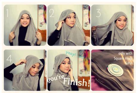 tutorial hijab moderen untuk wajah bulat tutorial hijab modern untuk wajah bulat