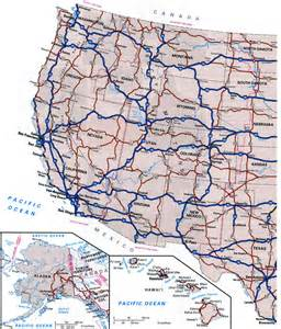 map of us highways highway cities of usfree maps of us