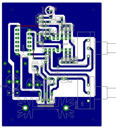 pcb design jobs home bat detector no1 pcb layout