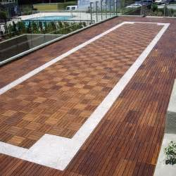 outdoor wood deck tile contemporary patio chicago
