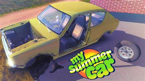 my summer car my summer car симулятор автолюбителя собираем двигатель