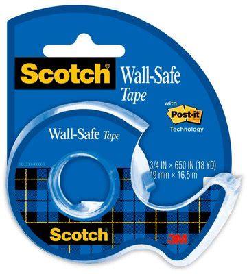 scotch® wall safe tape