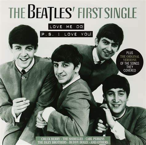 imagenes extrañas de los beatles disco de vinil the beatles first single love me do ps i