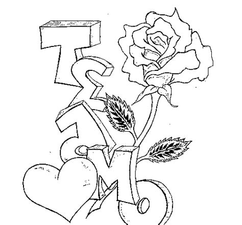 imagenes de rosas que digan te amo free coloring pages of chidos graffiti