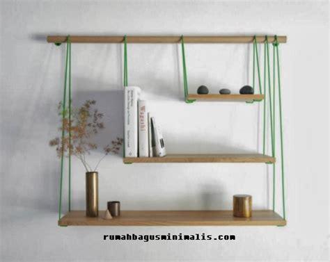 Rak Buku Gantung Jogja desain model rak gantung minimalis terbaru rumah bagus