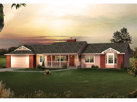 china house oakdale oakdale ranch home plan 057d 0027 house plans and more