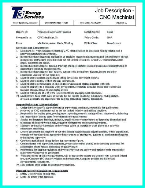 cnc programmer resume format cnc machinist programmer cover letter resume format