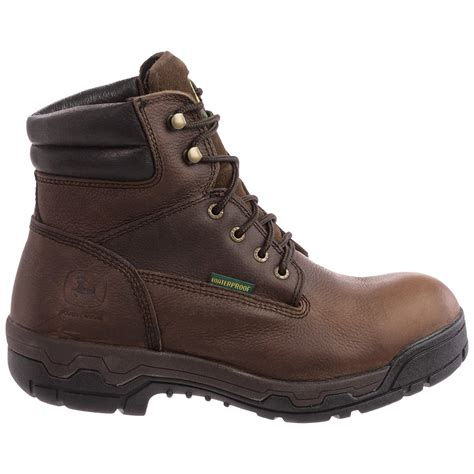 work boots for deere footwear jd6513 leather work boots for