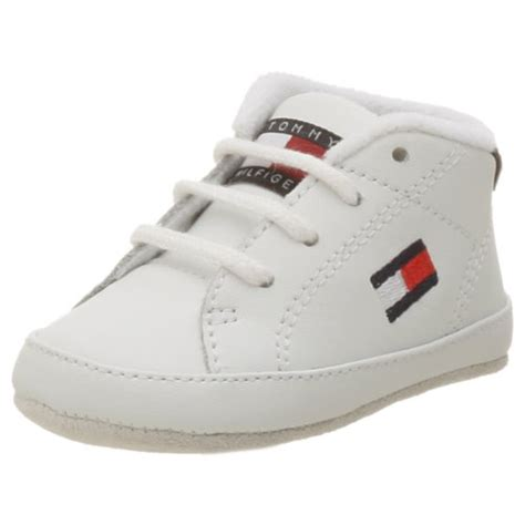 hilfiger baby shoes hilfiger infant toddler flag crib shoe white 3 m us