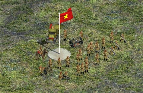 mod game viet viet minh army image fierce war mod for rise of nations