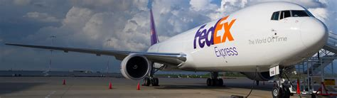 chartered air freight delivery fedex