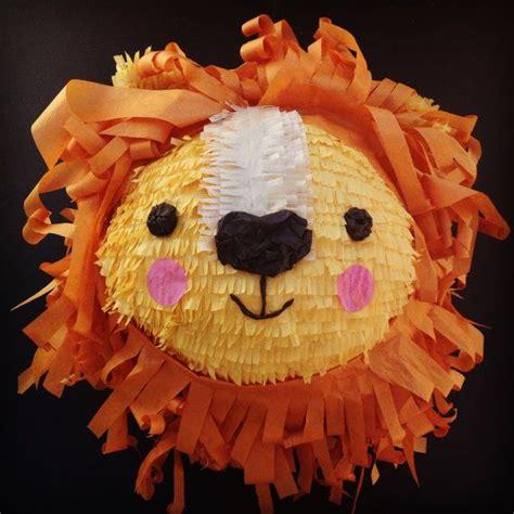 lions maken lion pi 241 ata by whackpinatas on etsy ben s 2nd birthday