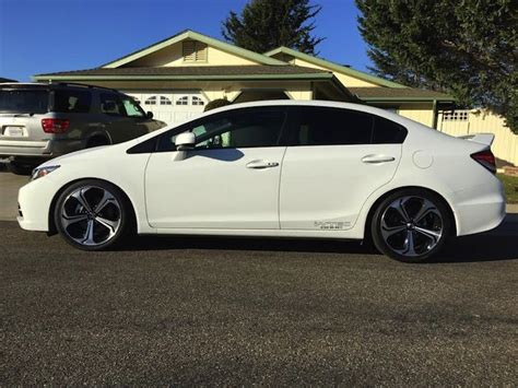 honda civic springs jeremey s 2015 honda civic si on d2 lowering springs 2015 honda civic honda civic si and