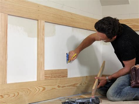 Prefabricated Wainscoting by How To Install Shaker Style Wainscot How Tos Diy