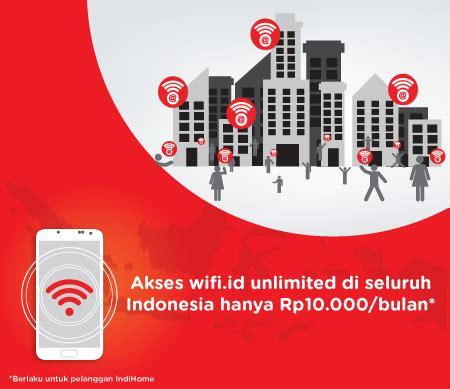 Wifi Id Bulanan wifi id seamless indihome fiber