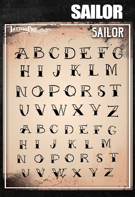 sailor tattoo font pro stencil font sailor atpsf201 hokeypokey shop