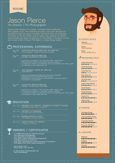 Free Simple Professional Resume Template In Ai Format Free Illustrator Resume Templates