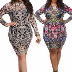plus size dashiki dress aztec tribal vintage thedashiki
