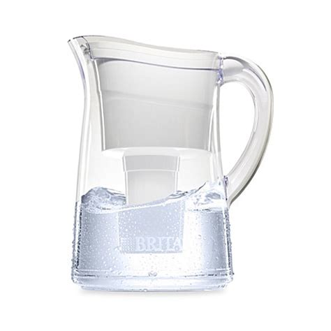 brita bed bath and beyond brita 174 capri 10 cup water filter pitcher in white bed