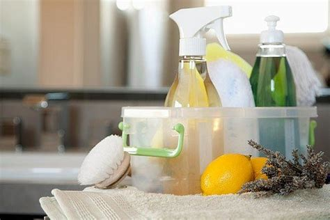 Homemade and natural home cleaning products