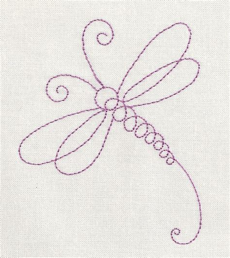 embroidery design not lining up dragonfly line machine embroidery design