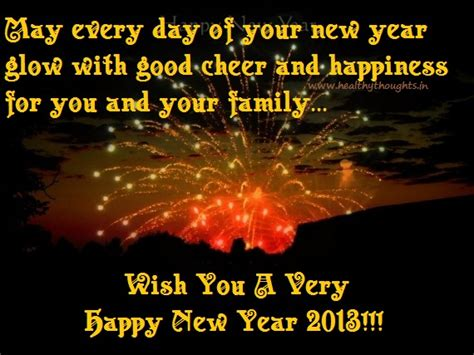 happy new year 2013 healthythoughts the mind is